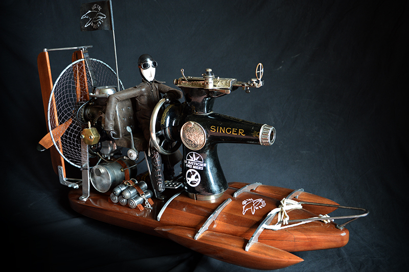 sewing machine - hydroglisseur