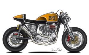 CAFE RACER HARLEY 57