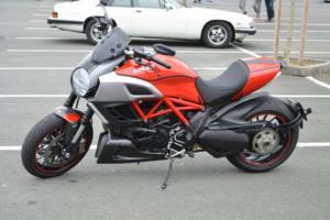 Une Ducati très récente